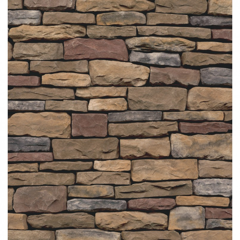 Airstone Tile | Stone Veneer Lowes | Stacked Stone Fireplace