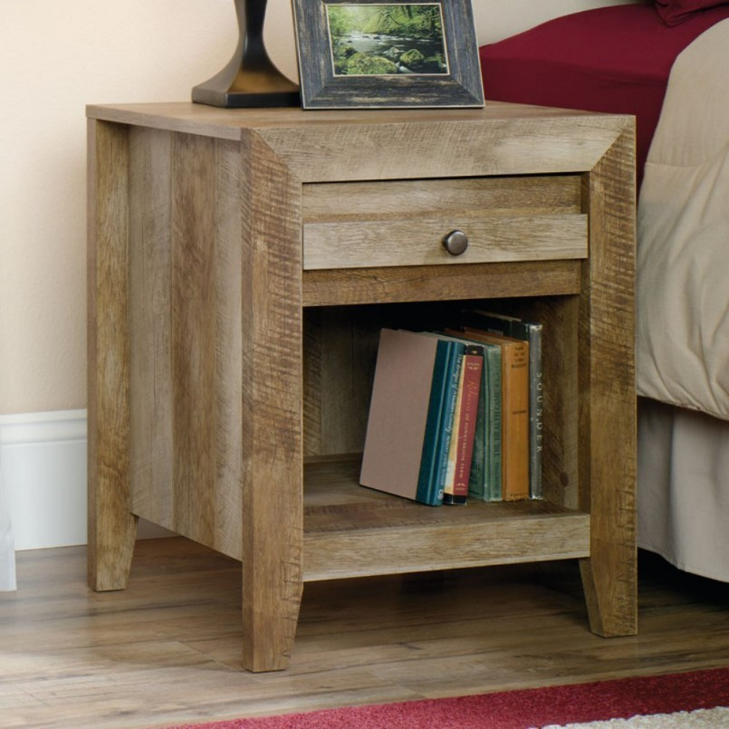 Astounding Cedar Night Stands | Awesome Rustic Nightstand Design