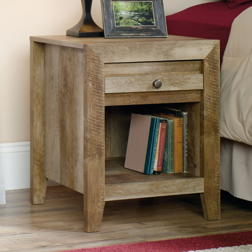 Inspire Your Home with Charming Rustic Nightstand: Astounding Cedar Night Stands | Awesome Rustic Nightstand Design