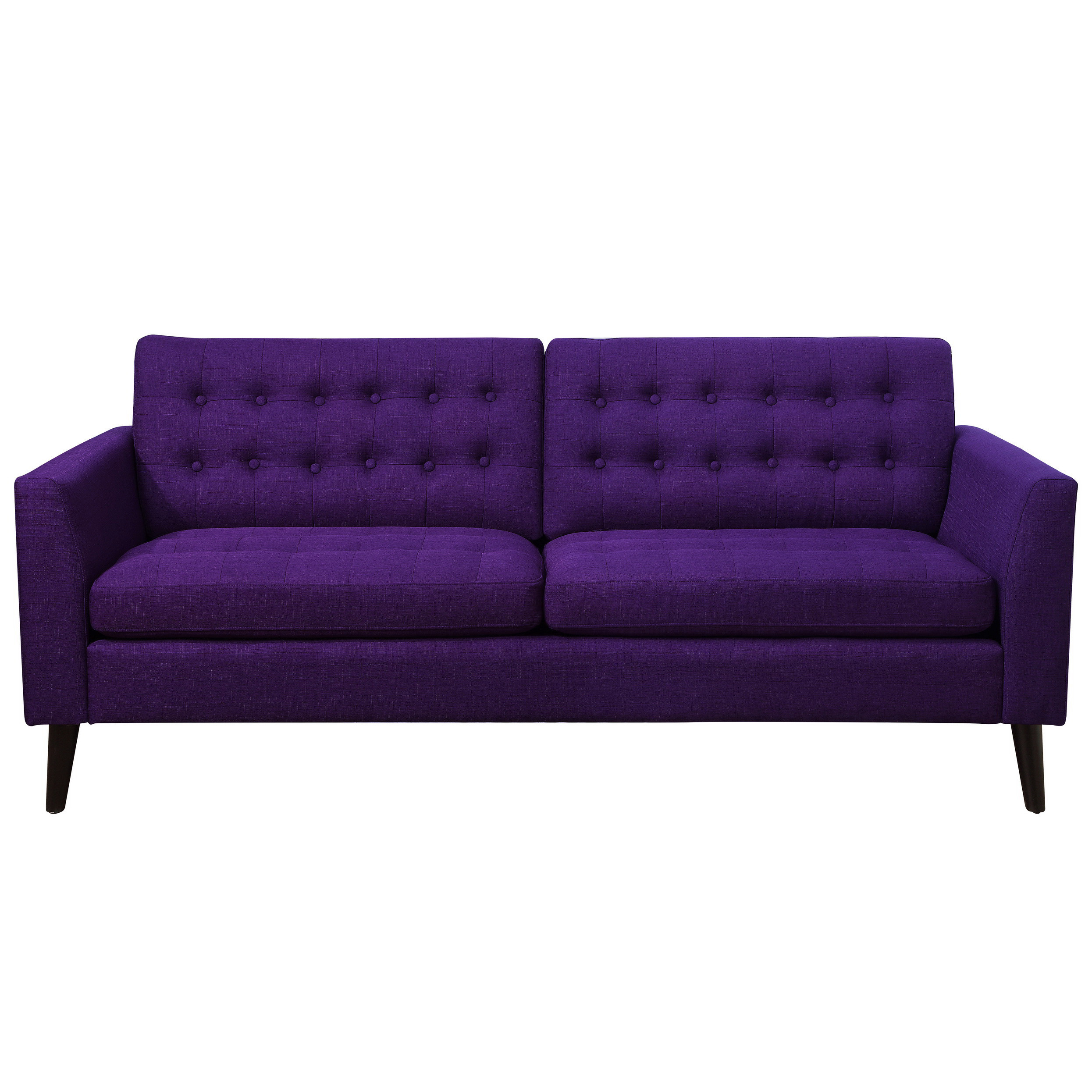 Warm Purple Sofa to Complete Your Living Room Decor: Aubergine And Grey Living Room | Eggplant Colored Sofa | Purple Sofa