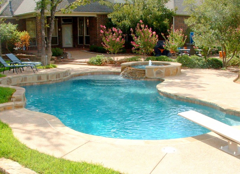 Average Cost Of Inground Pool | Cost Of Infinity Pool | Backyard Pool Designs