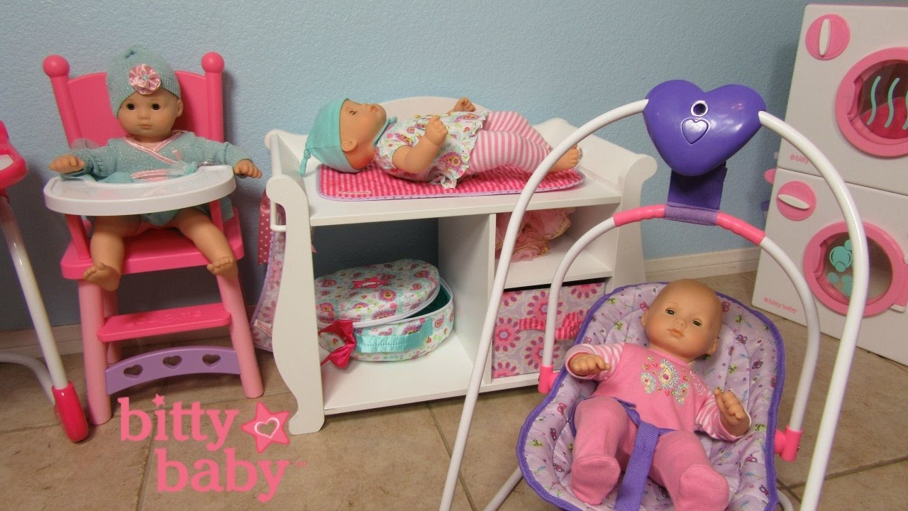Baby Changing Dresser | Pottery Barn Changing Table | Bitty Baby Changing Table