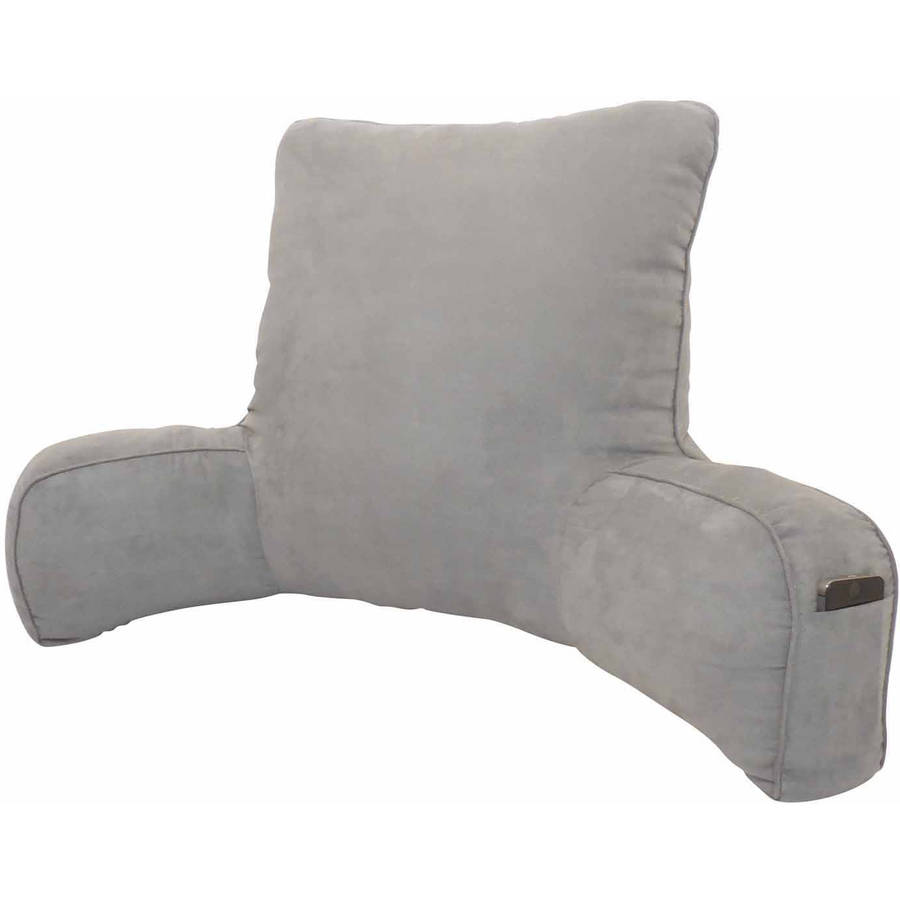 Backrest Pillow Cover | Bed Pillow With Arms | Bed Rest Lounger