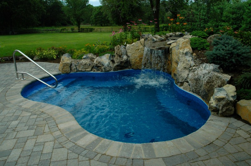 Backyard Inground Pool Designs | Pictures Of Inground Pools | Backyard Pool Designs