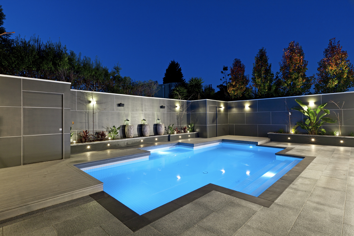 Backyard Pool Designs | Average Cost of A Small Inground Pool | Inground Pool Pictures