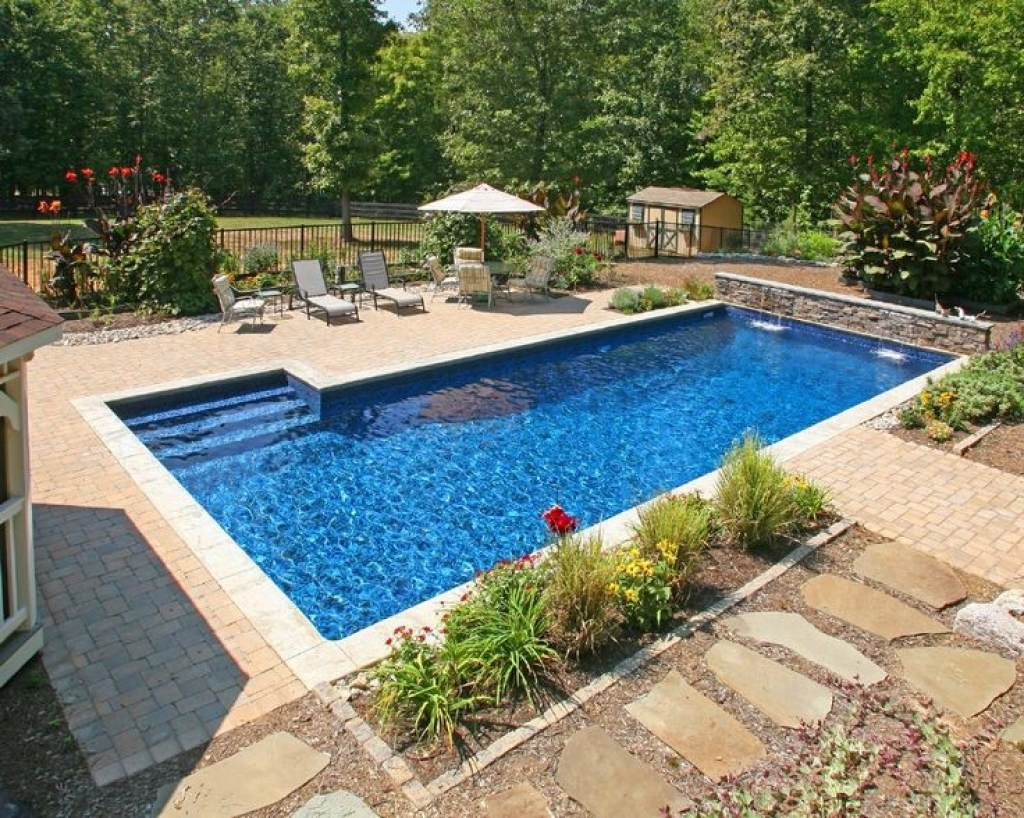 Backyard Pool Designs | Average Cost Of Inground Swimming Pool | Swimming Pool Cabana Ideas