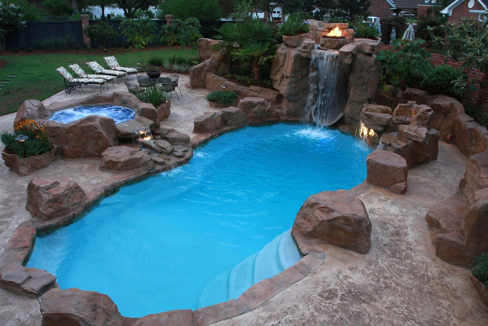 Backyard Pool Designs | Estimated Cost Of Inground Pool | Inground Swimming Pools Designs