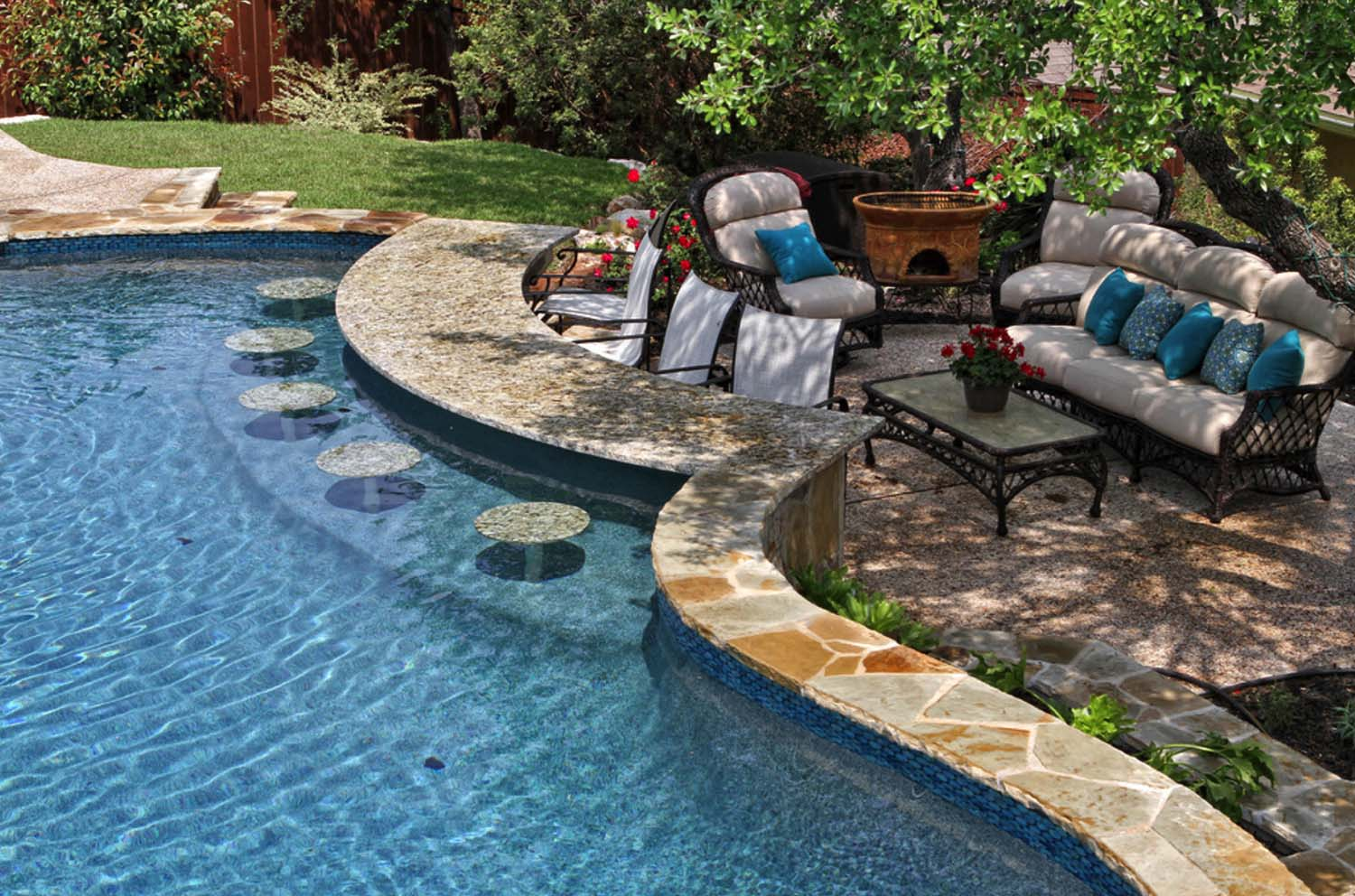 Backyard Pool Designs | Inground Pool Ideas | Cost Of A Small Inground Pool