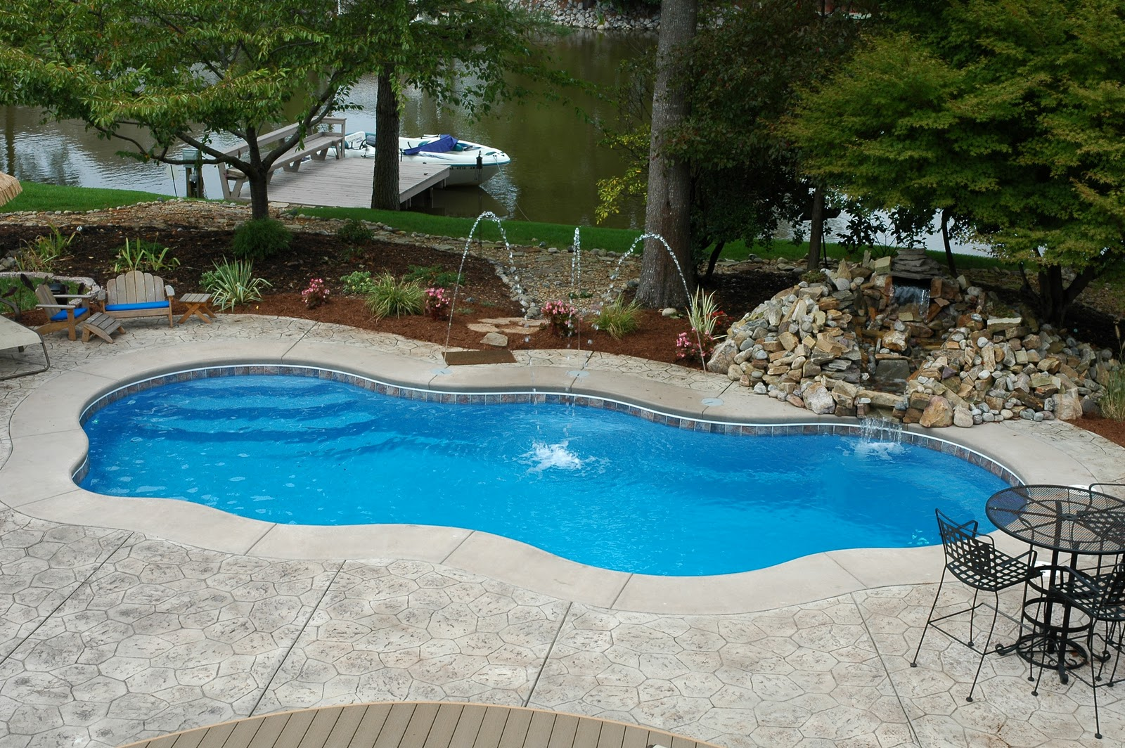 Backyard Pool Designs | Mini Inground Swimming Pool | Designer Pools And Spas