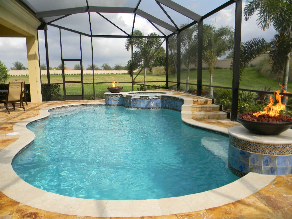 Backyard Pool Designs | Pool Cabana Ideas | Average Cost Of A Small Inground Pool