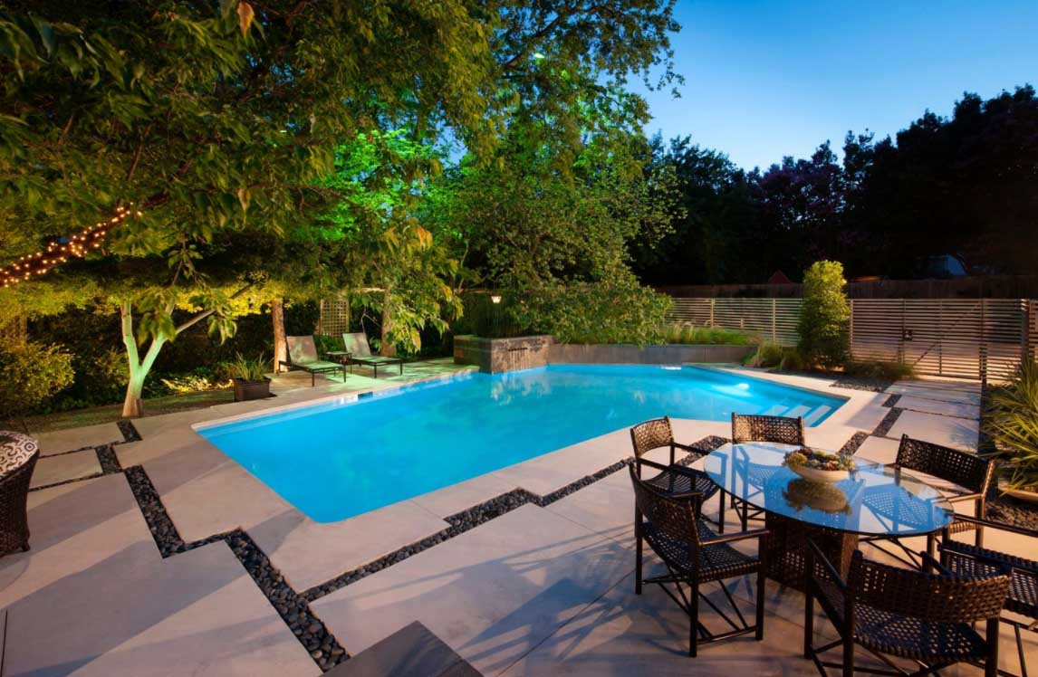 Cool Backyard Pool Designs for Your Outdoor Space: Backyard Pool Designs | Small Backyards With Pools | Average Cost Of An Inground Swimming Pool