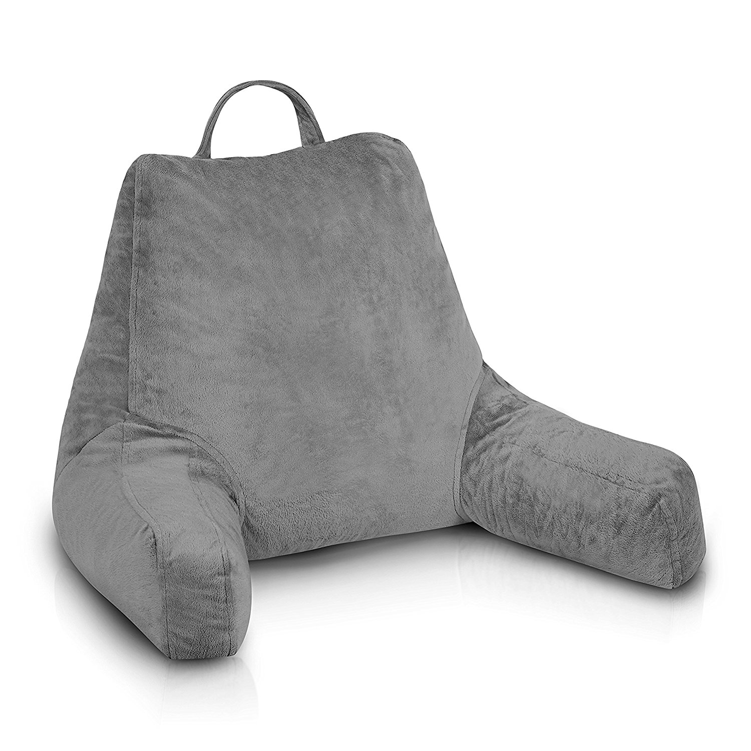ideas: bed rest pillow target | bed pillow with arms | plush bedrest