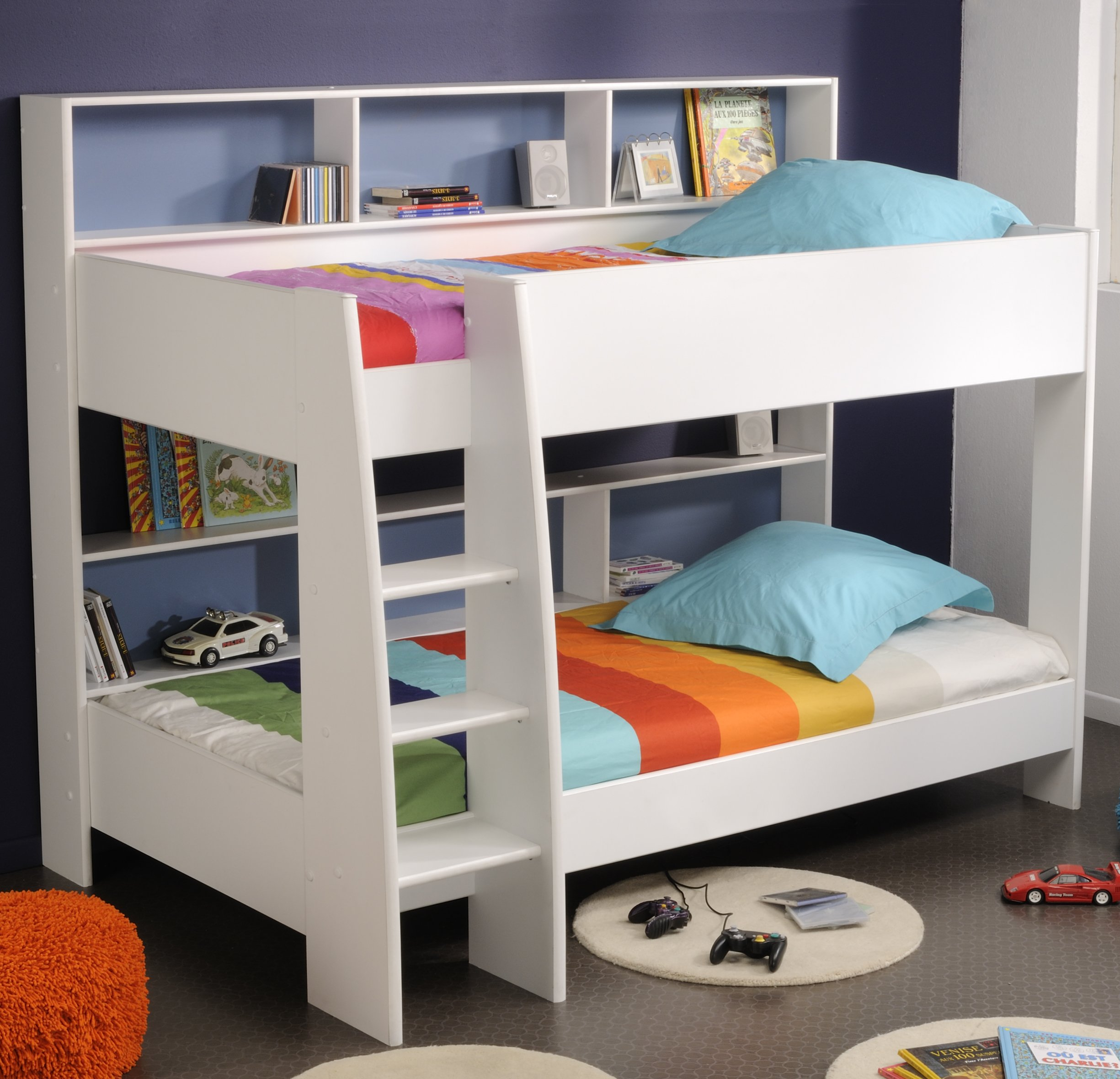 Incredible Style and Modern Bunk Beds for Kids Bedroom: Best Bunk Beds For Small Rooms | Modern Bunk Beds | Contemporary Twin Bed