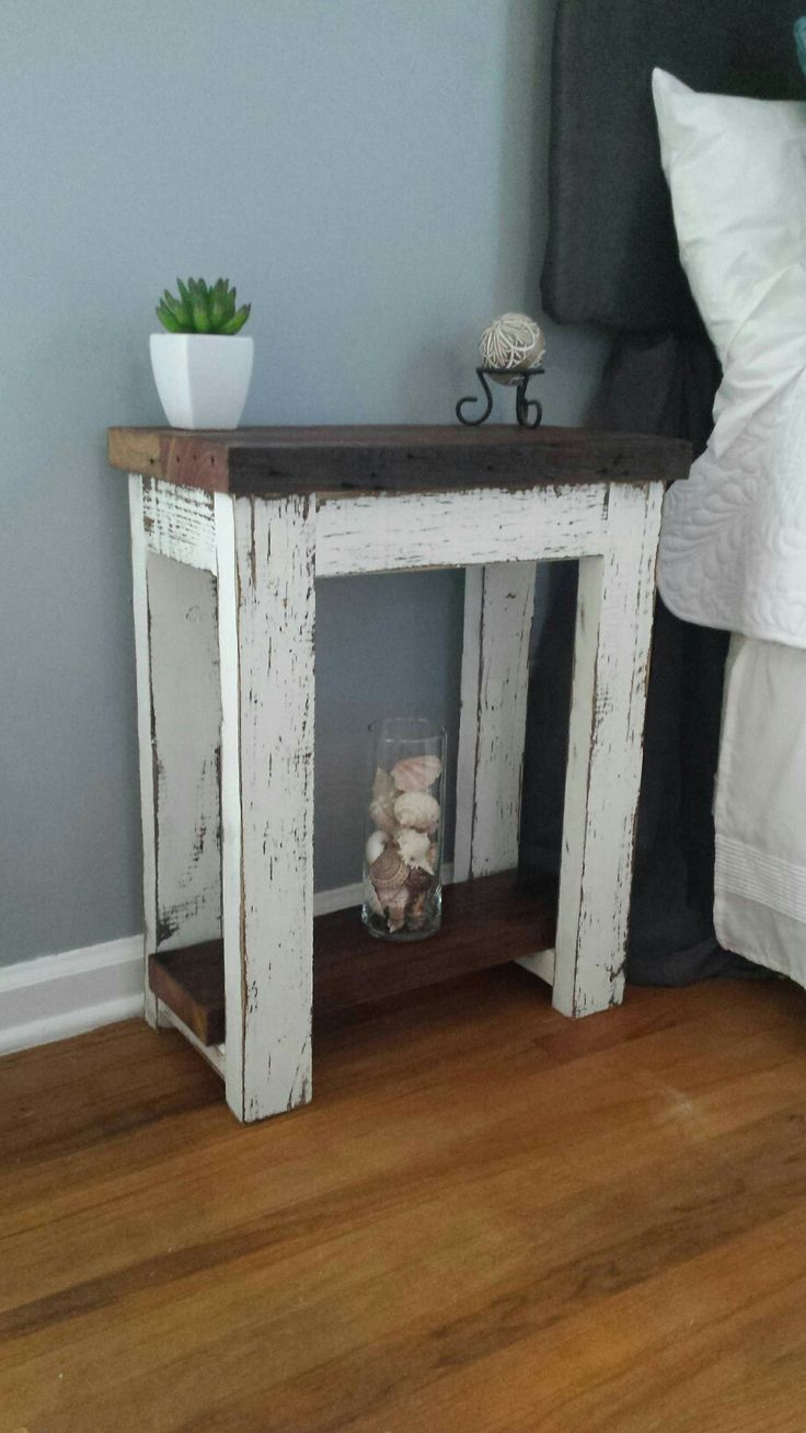 Inspire Your Home with Charming Rustic Nightstand: Best Willow Bedside Table | Cozy Rustic Nightstand