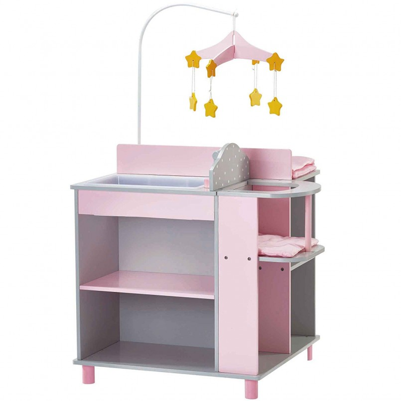 Bitty Baby Changing Table | Changing Table Hutch | Baby Changing Table Dresser