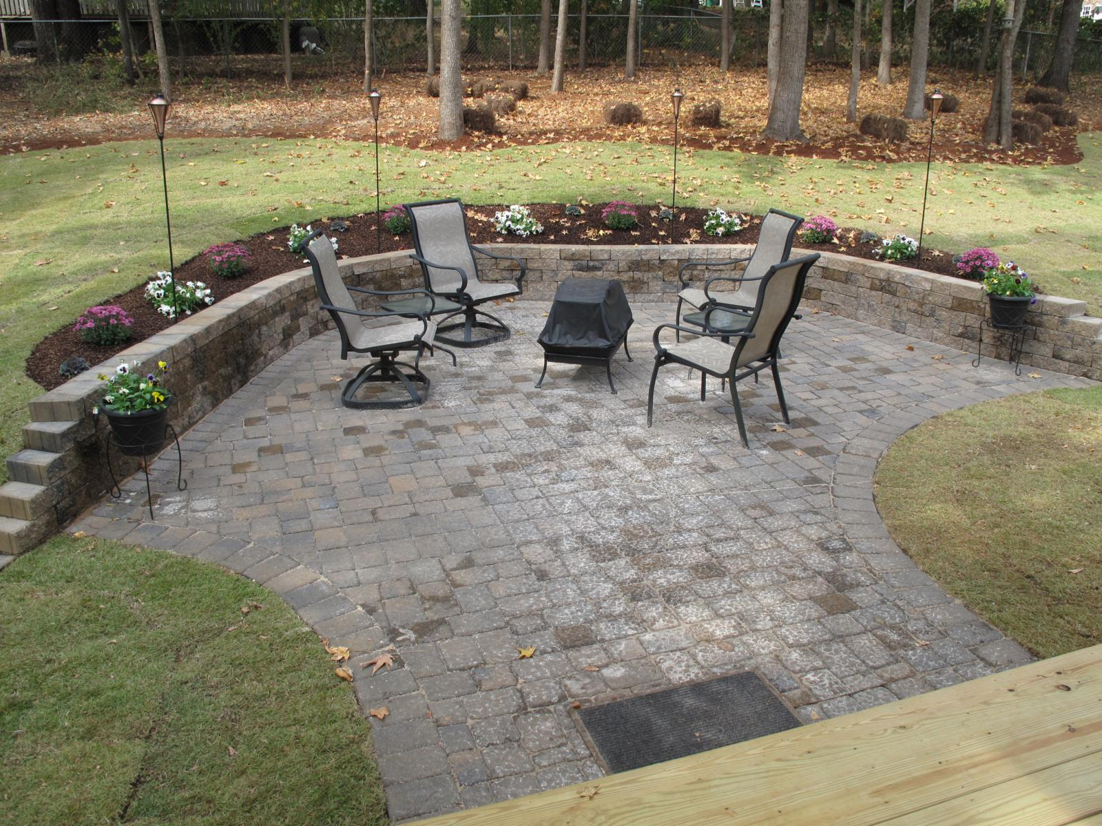 brunswick price to picture concrete simple how creations size patio patterns blocks large pavers of walmart cheap ga concept