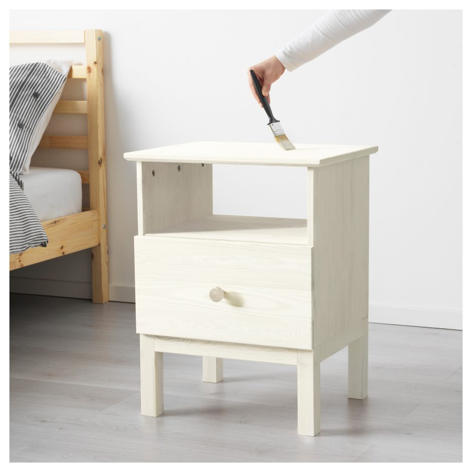 Simple Design of Tarva Nightstand for Bedroom Furniture Ideas: Bunk Bed Night Stand | Nightstands Under $100 | Tarva Nightstand