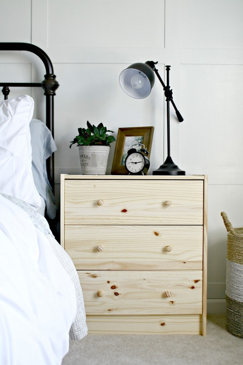 Bunk Bed Night Stand | Tarva Nightstand | Bedside Tables Ikea