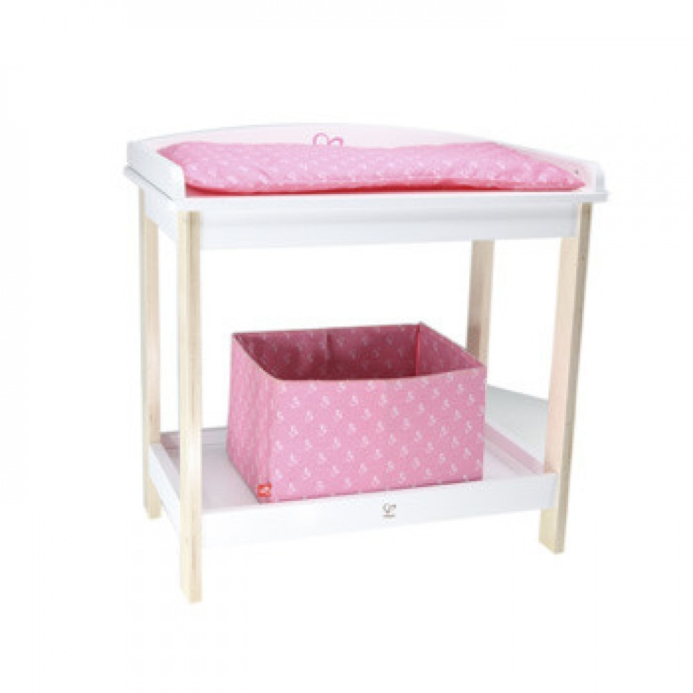 Charming and Cute Bitty Baby Changing Table: Changing Table Dresser Combo | Changing Table Topper For Dresser | Bitty Baby Changing Table