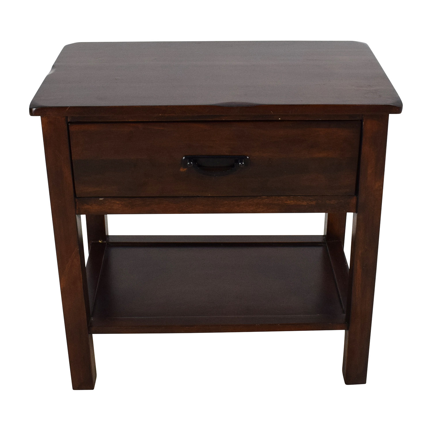 Charming Solid Wood Night Stands | Redoubtable Rustic Nightstand