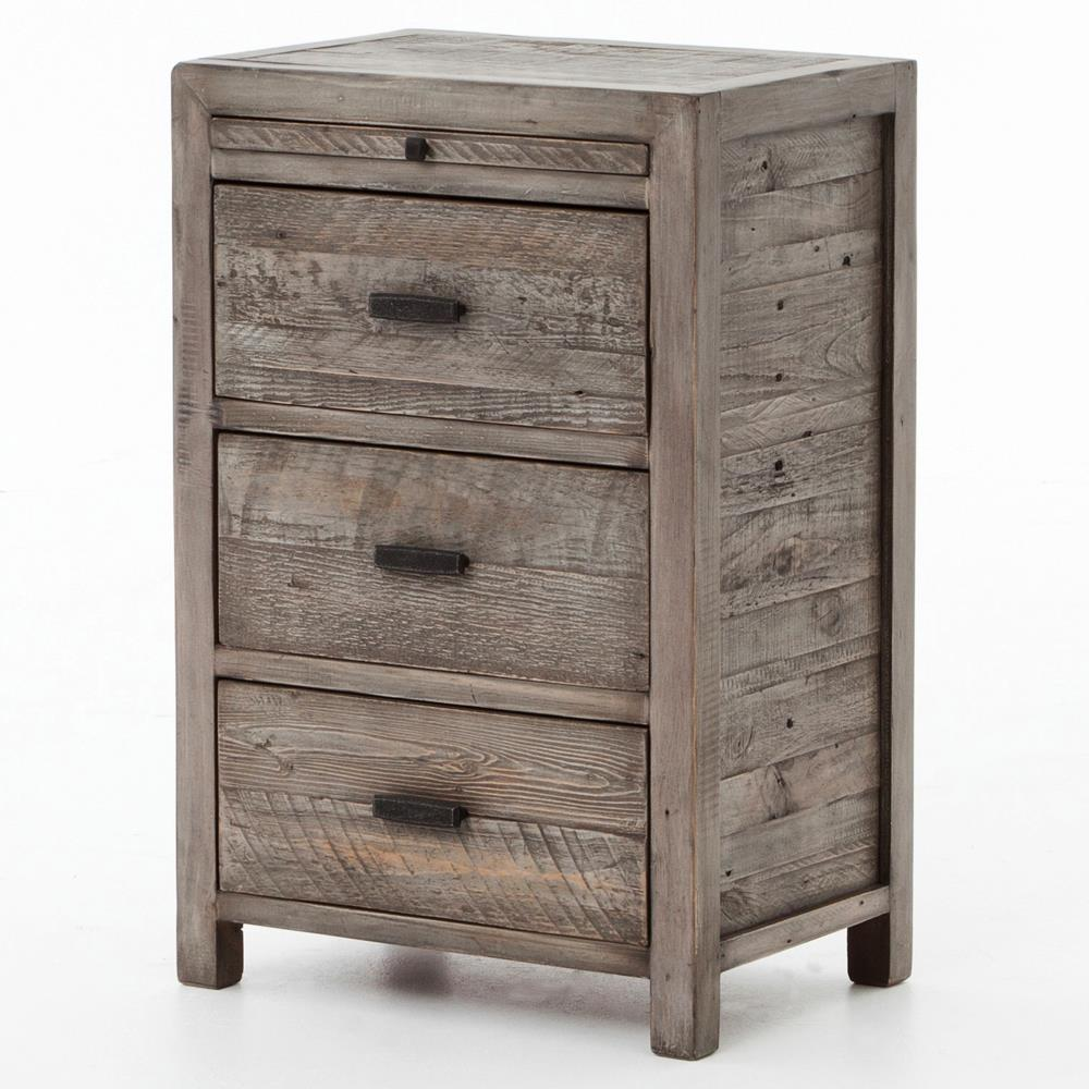 Inspire Your Home with Charming Rustic Nightstand: Charming Willow Bedside Table | Cozy Rustic Nightstand