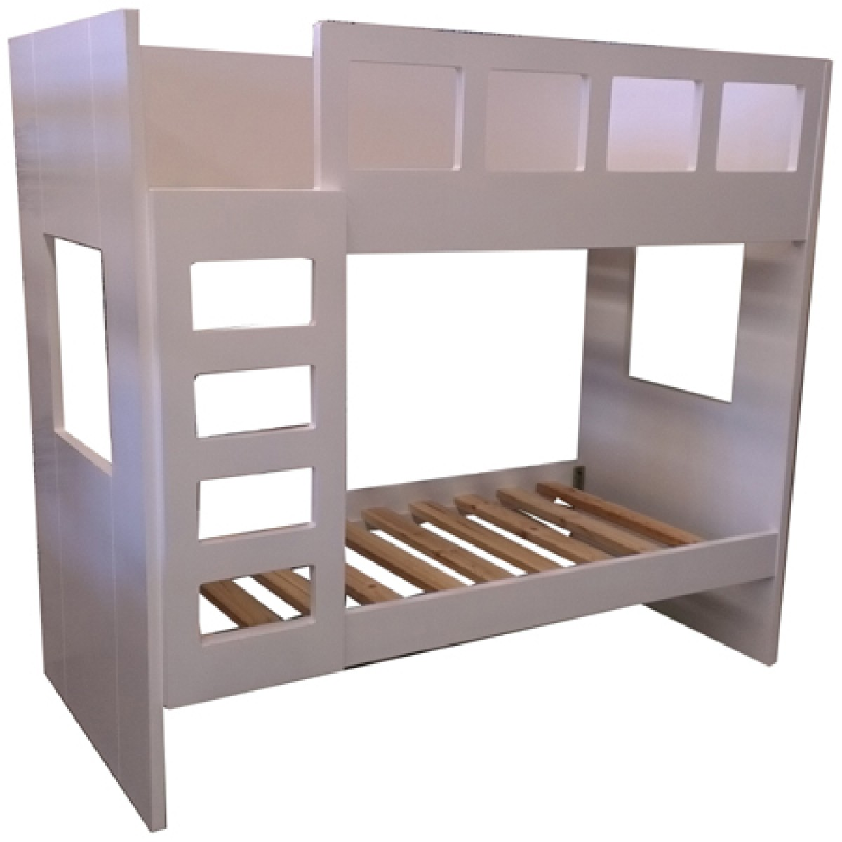 Cherry Wood Bunk Beds | Safe Bunk Beds For Toddlers | Modern Bunk Beds