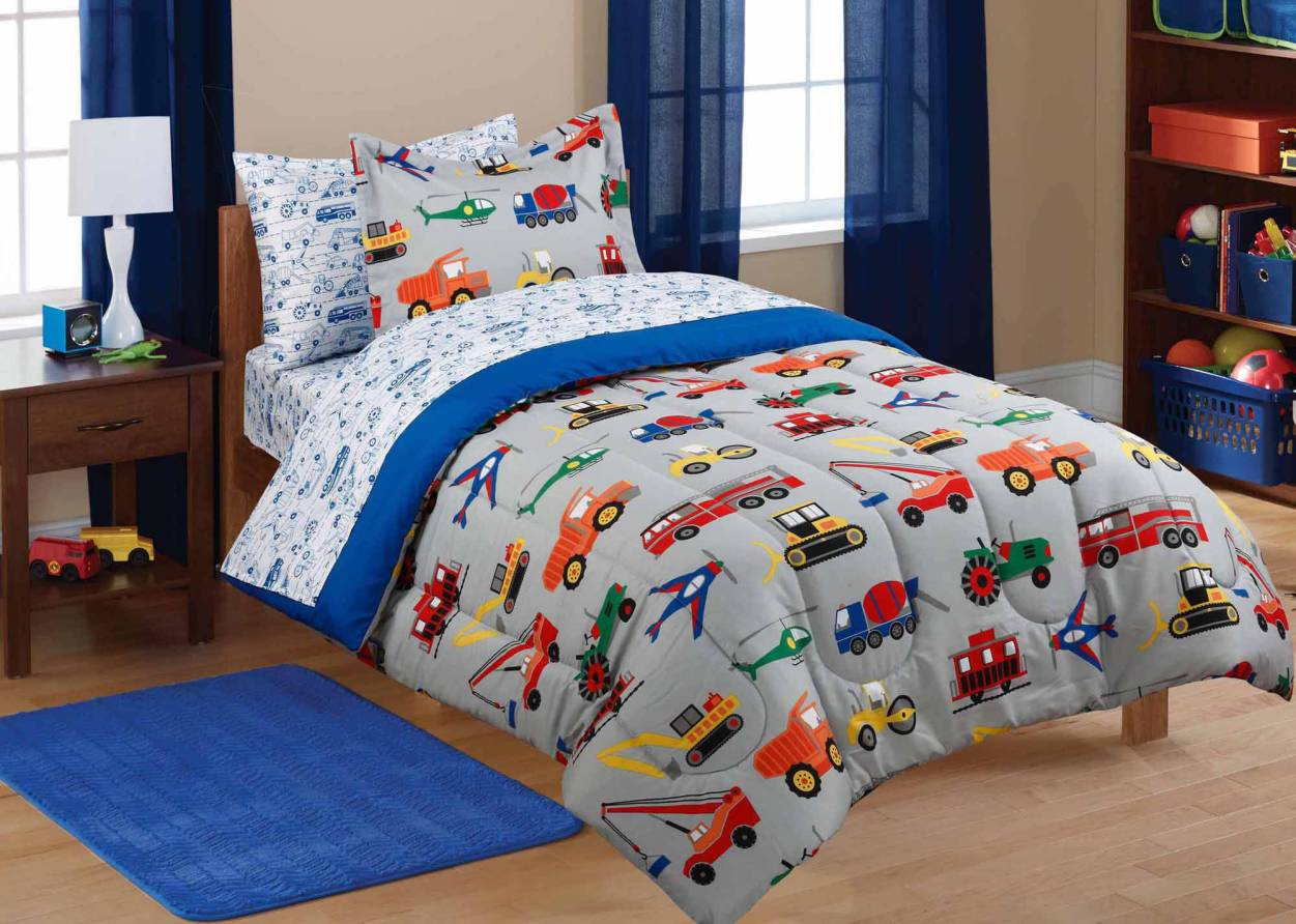 Chuggington Bedding | Monster Truck Bed Set | Bubble Guppies Bedding