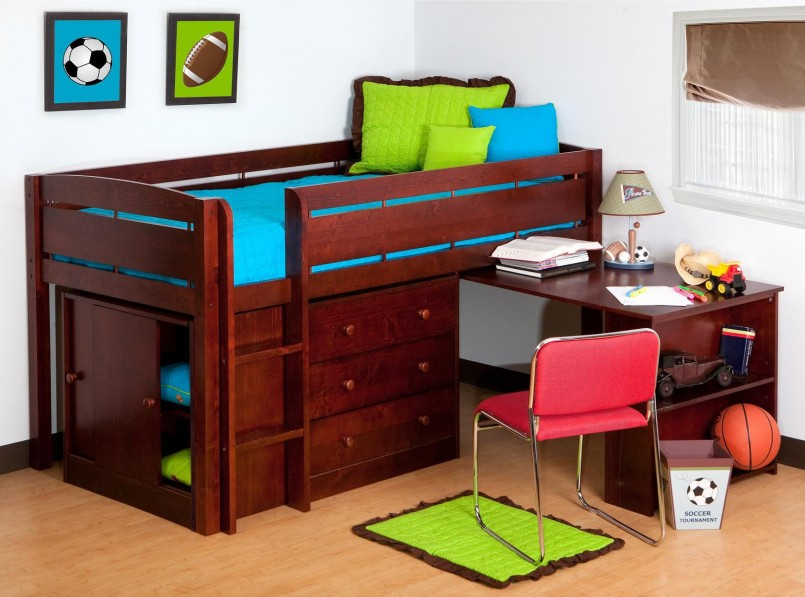 Classy Canwood Twin Bed | Extraordinary Canwood Loft Bed