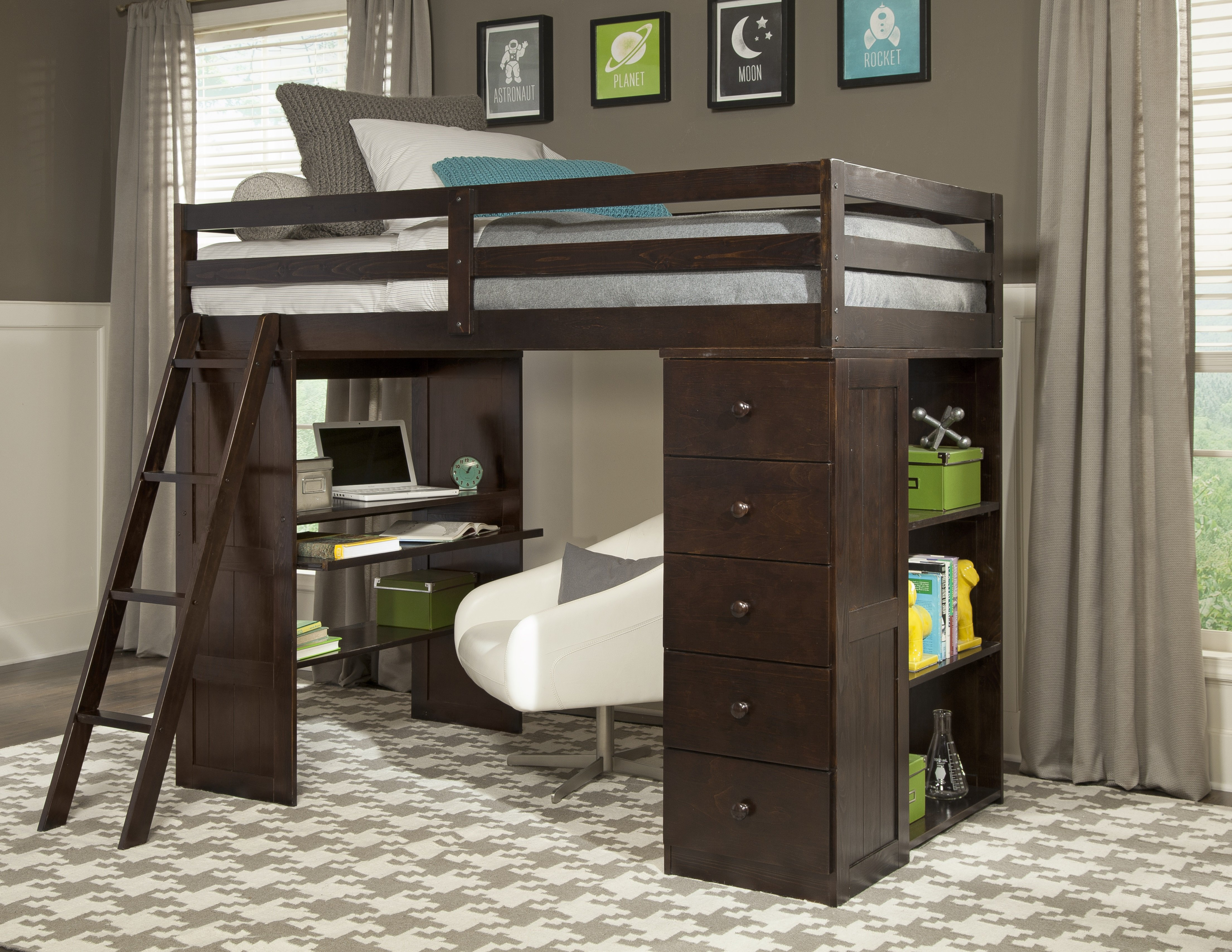 Innovative Canwood Loft Bed for Your Kids Bedroom Ideas: Comfy Canwood Alpine Ii Loft Bed | Magnificent Canwood Loft Bed