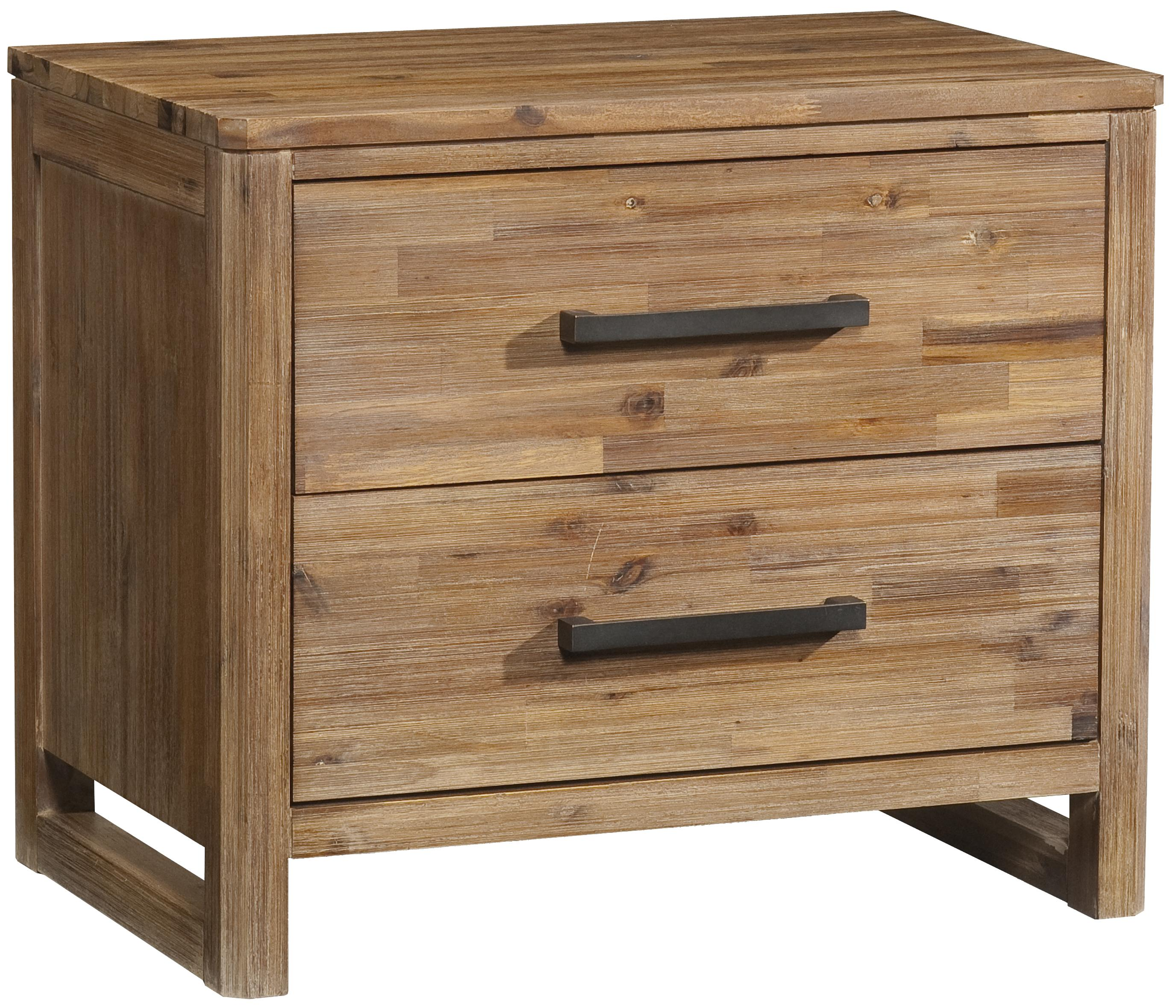 Creative Rustic Nightstand | Fascinating Solid Wood Nightstands