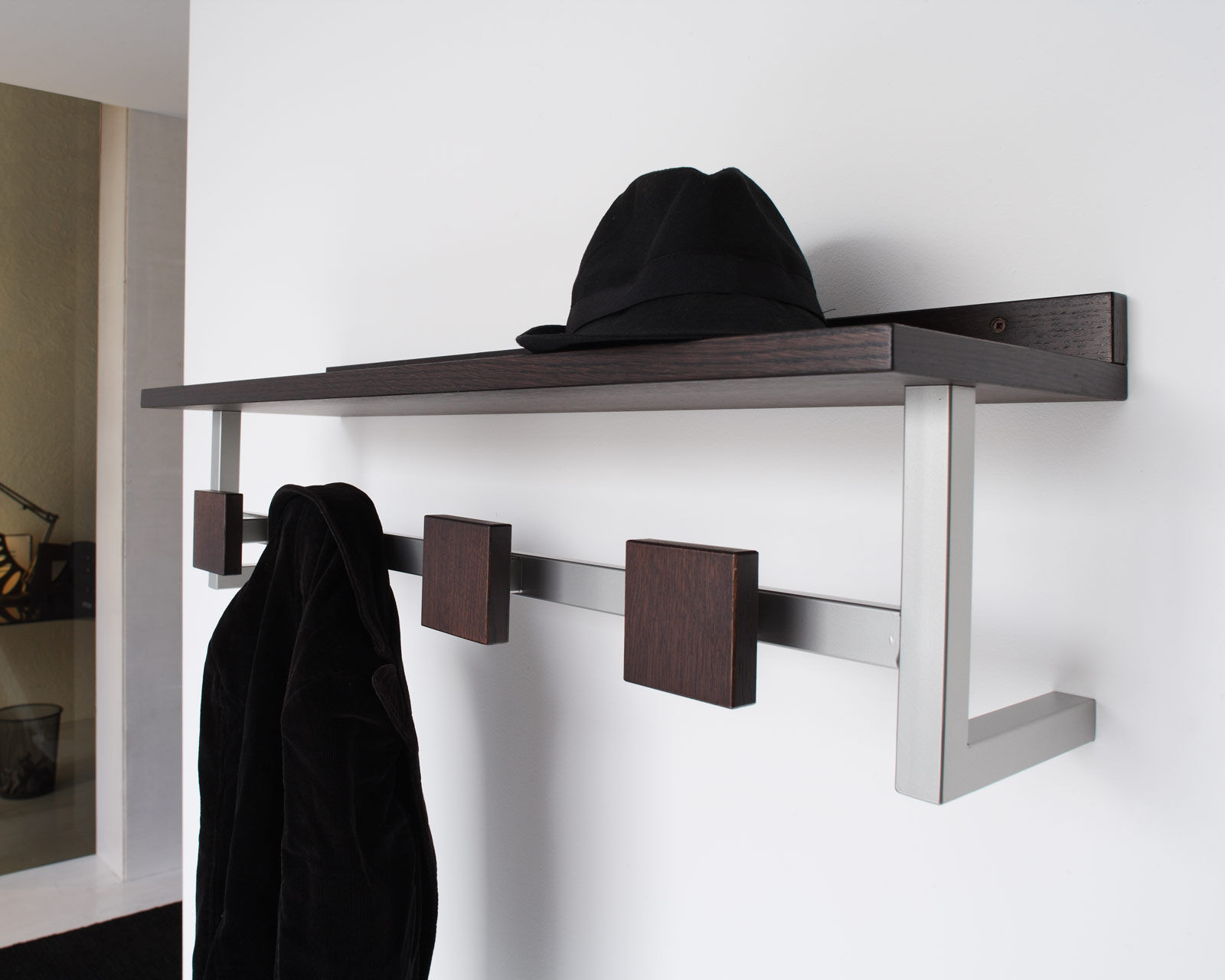 DIY Simple Cubicle Coat Hook for Your Cubicle Accessories: Cubicle Coat Hook | Cubicle Coat Rack | Cubicle Shelves Hanging