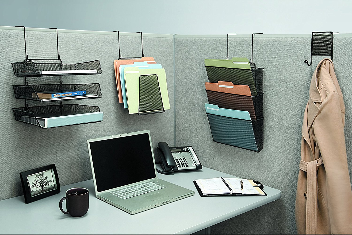 Cubicle Coat Hook | Hangers for Cubicle Walls | Cubicle Plant Hanger