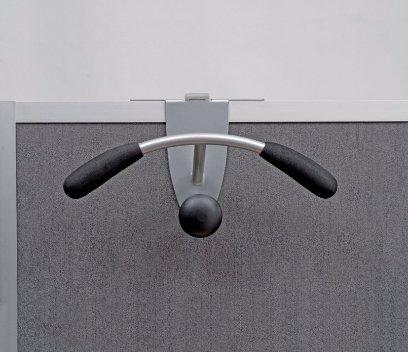 Cubicle Wall Mount | Over The Cubicle Coat Hook | Cubicle Coat Hook