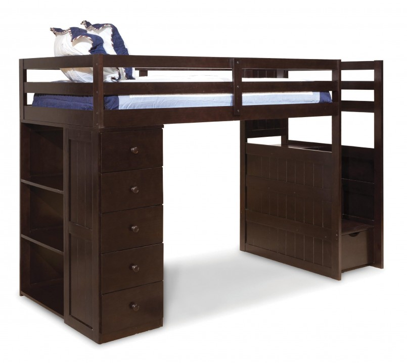 Dazzling Canwood Loft Bed | Alluring Canwood Whistler Junior Loft Bed Natural