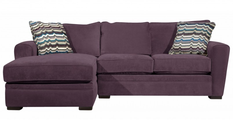 Eggplant Couch | Purple Sofa | Purple Sectional Couch