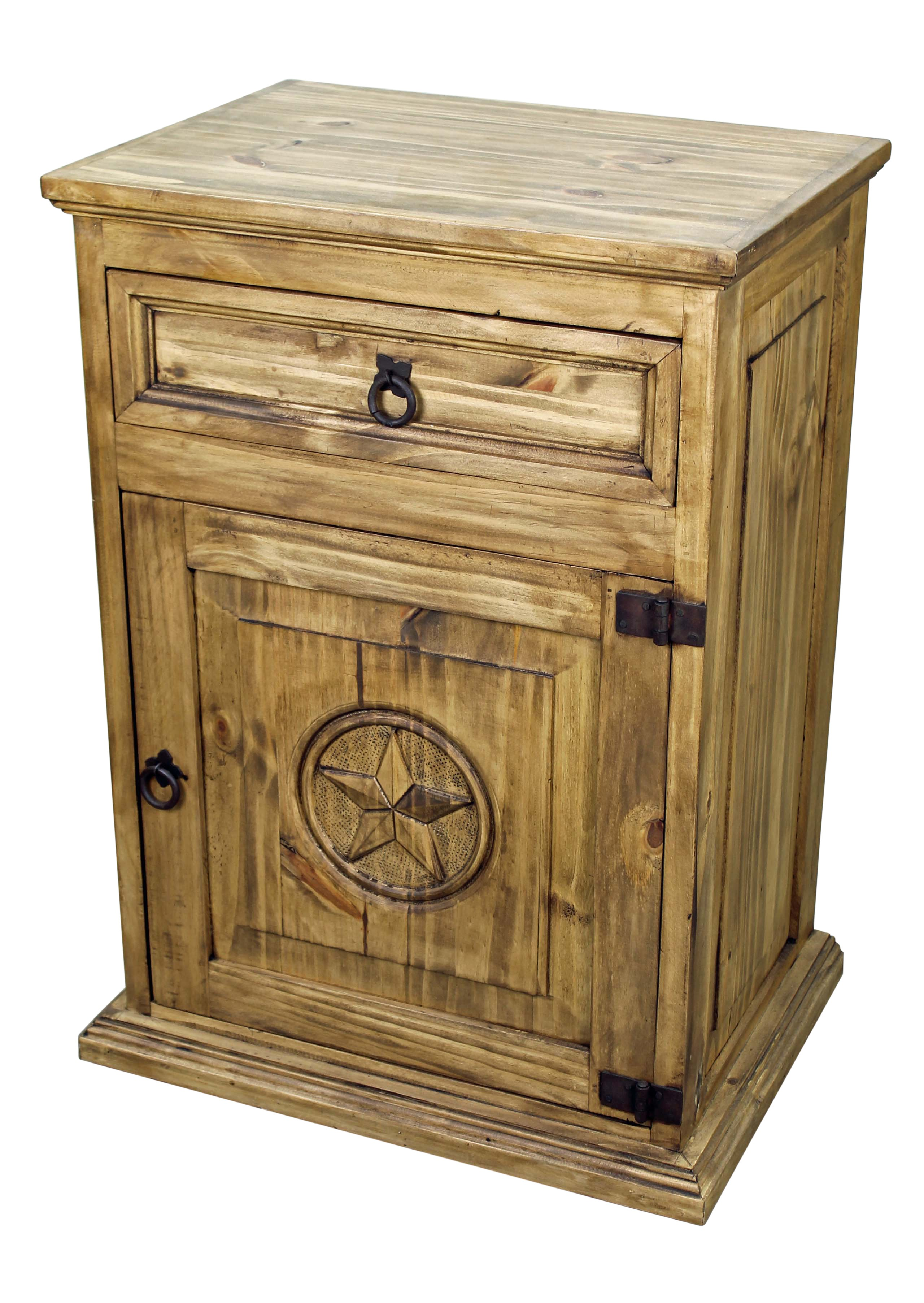 Enticing Night Stands at Walmart | Enticing Rustic Nightstand