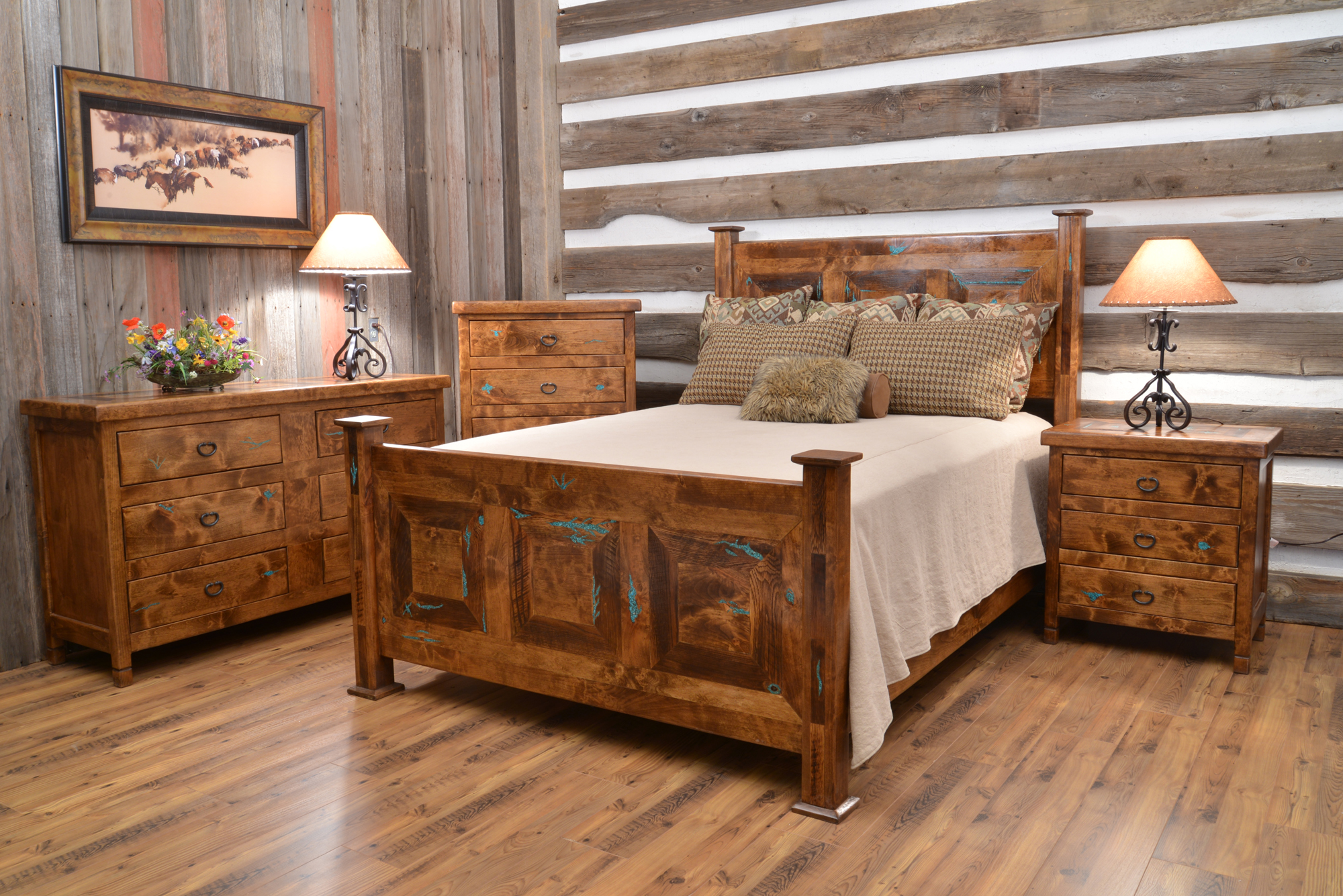Enticing Rustic Nightstand Plans | Elegant Rustic Nightstand