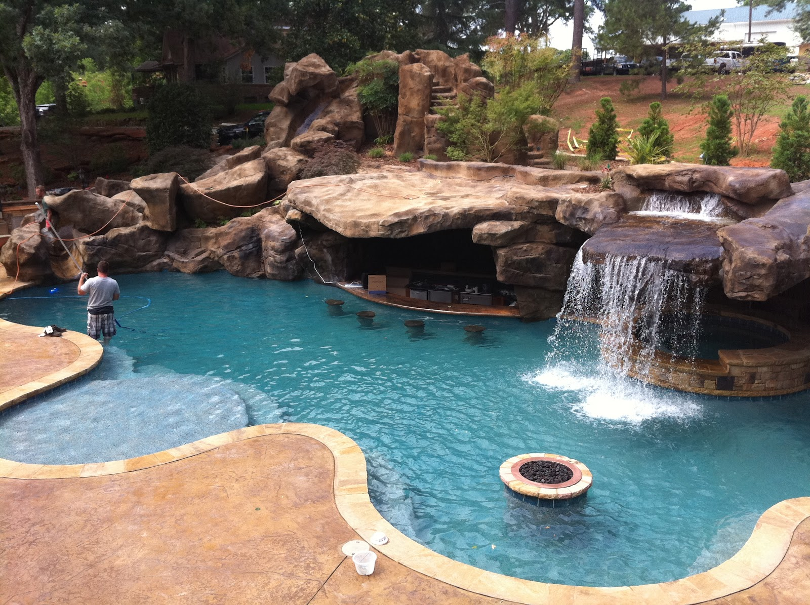 Estimated Cost Of Inground Pool | Backyard Pool Designs | Average Cost Of Putting In A Swimming Pool