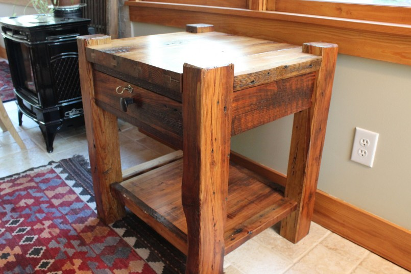Exquisite Rustic Nightstand Ideas | Exciting Cedar Nightstand