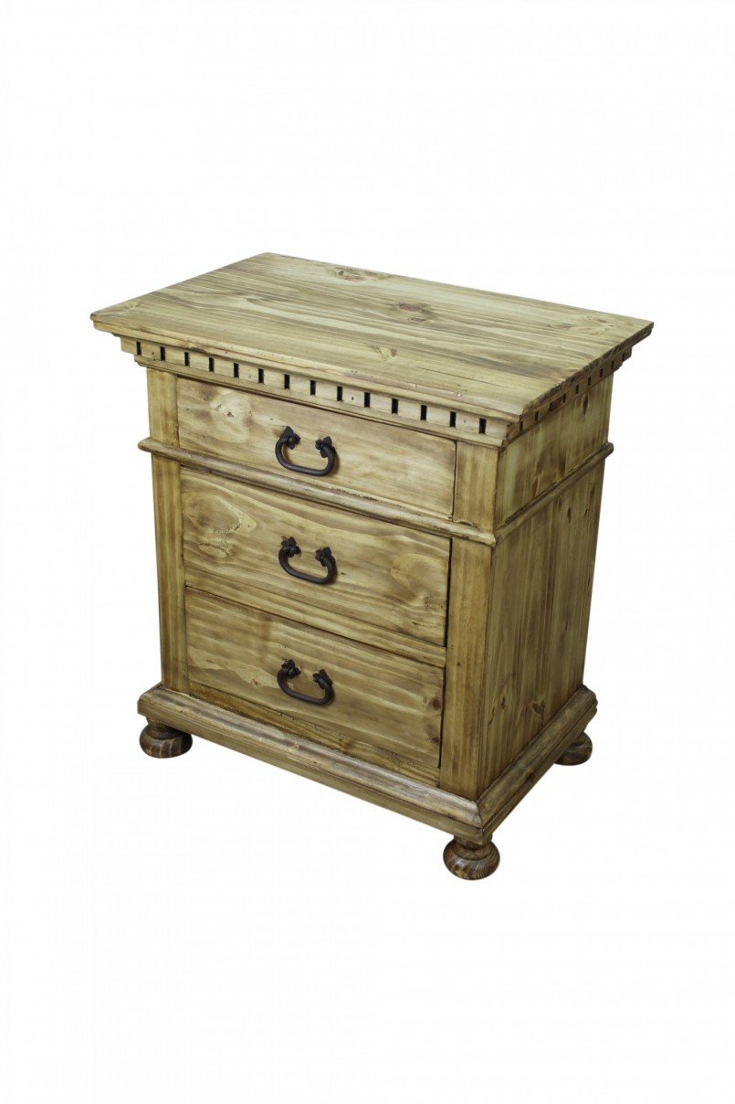 Extraordinary Alamo Rustic Furniture | Nice Rustic Nightstand