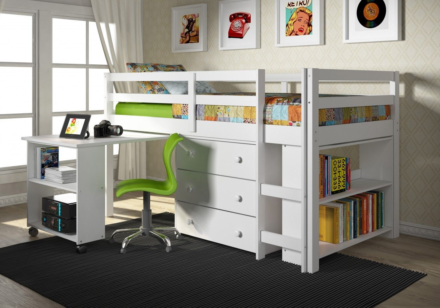 Extraordinary Canwood Furniture | Miraculous Canwood Loft Bed