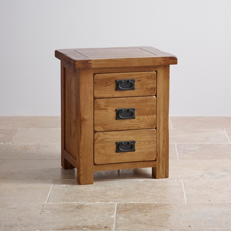 Extraordinary Rustic Nightstand | Engaging Bedside Table Reclaimed Wood