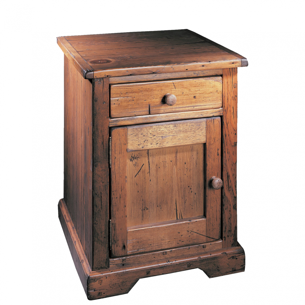 Fascinating Rustic Nightstand | Charming Rustic Nightstands With Drawers