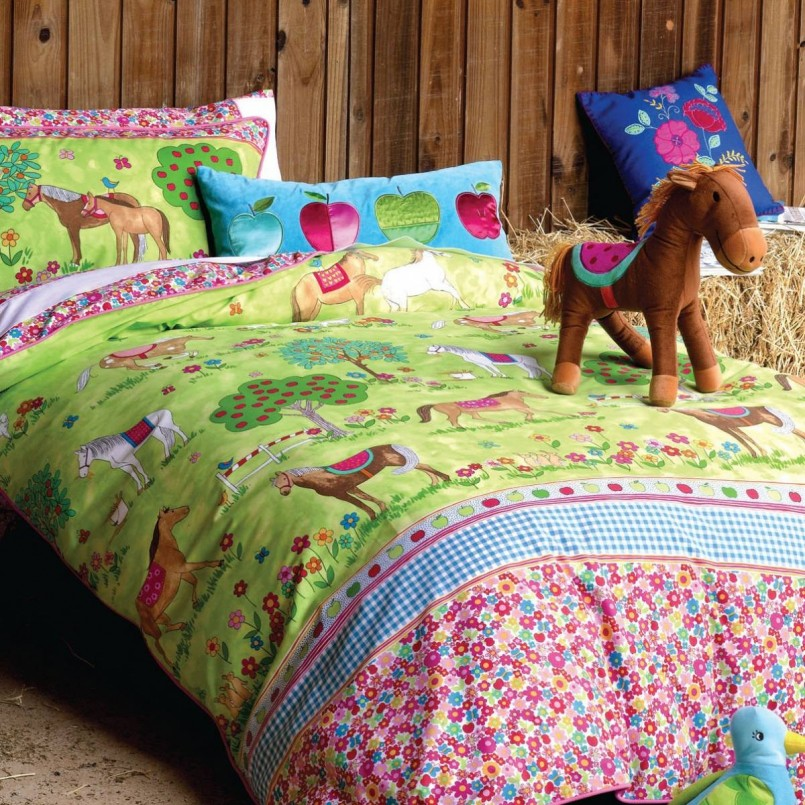 Fire Truck Sheets Twin | Fire Truck Twin Sheets | Horse Bedding For Girls