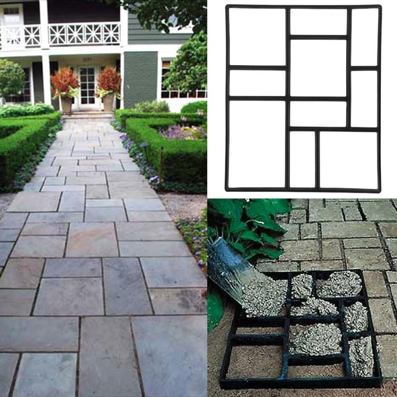 Flagstone Stepping Stones   Lowe`s Stepping Stones   Stepping Stones At Home Depot