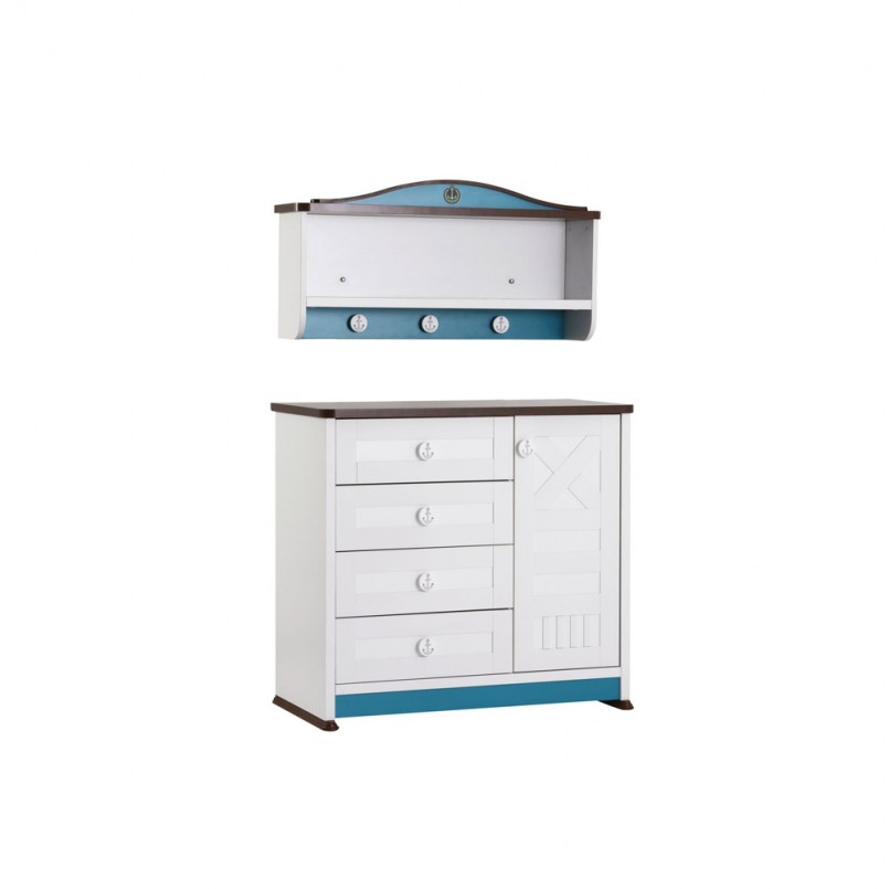 Fold Down Changing Table | Bitty Baby Changing Table | Diaper Changing Station