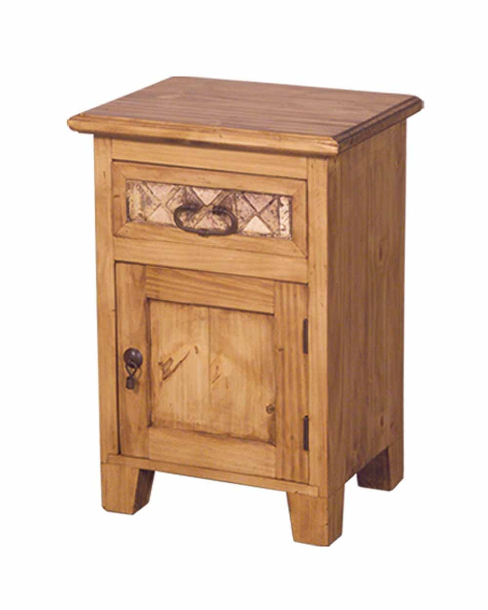 Fresh Rustic Nightstand | Great Solid Wood Night Stands