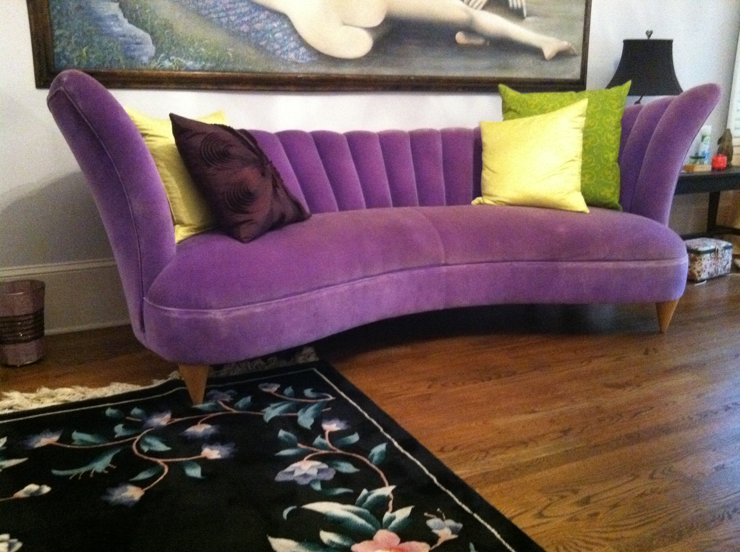 Funky Settees | Purple Sofa | Purple Lounge Chair
