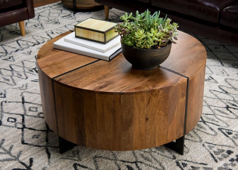Furniture Village Glass Coffee Table | Weirs Furniture | Furniture Stores In Plano Texas Area