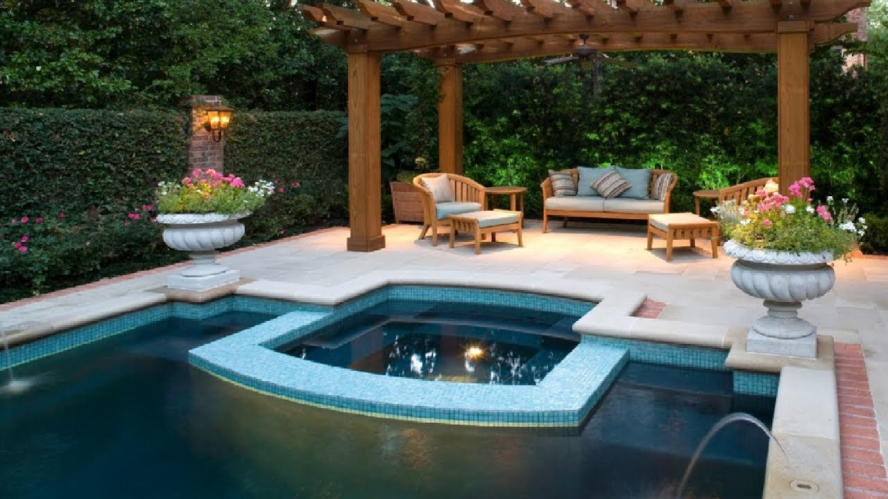 Gunite Pool Cost | Pool Ideas for Small Backyards | Backyard Pool Designs